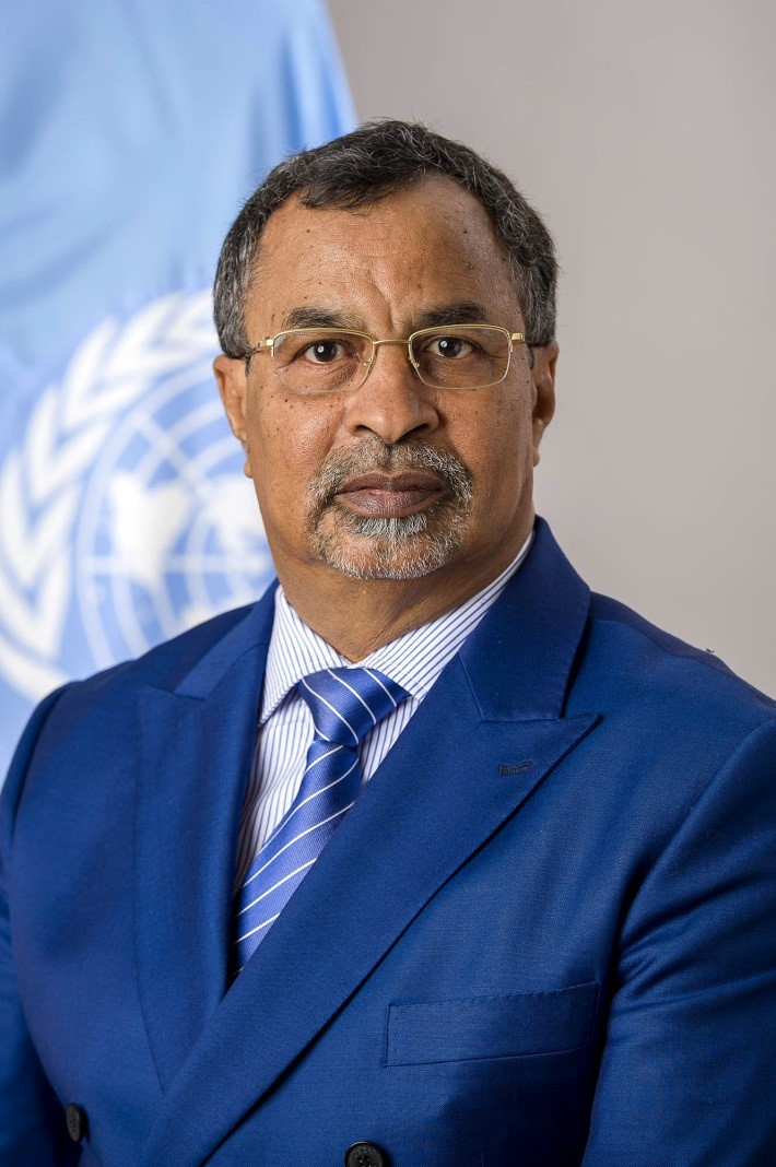 Annadif Khatir Mahamat Saleh Special Representative of the Secretary-General for Mali and Head of the United Nations Multidimensional Integrated Stabilization Mission in Mali