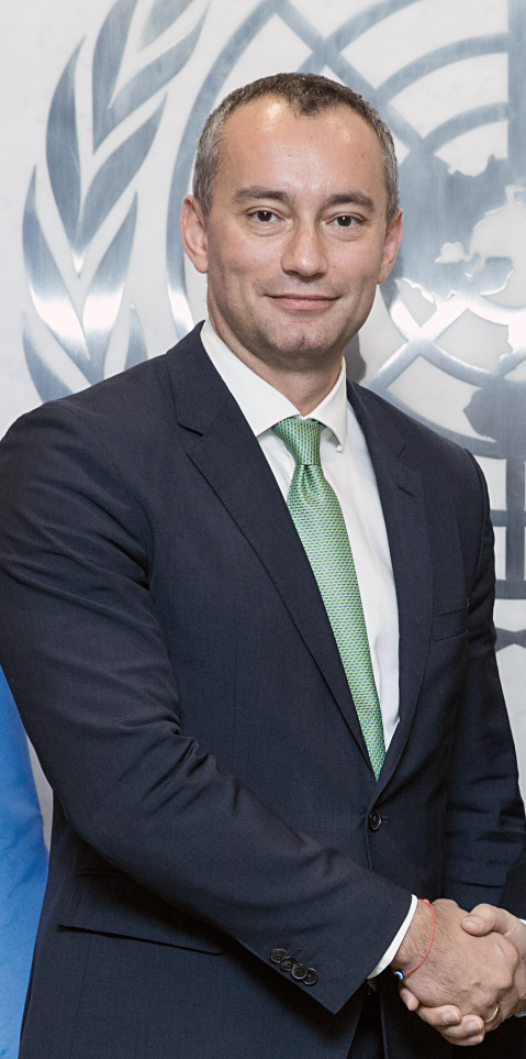 Nickolay  Mladenov Special Coordinator for the Middle East Peace Process
