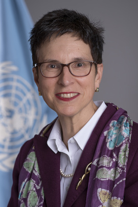 Ursula Brigitte Müller Assistant Secretary-General for Humanitarian Affairs and Deputy Emergency Relief Coordinator