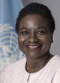 Natalia  Kanem Executive Director of the United Nations Population Fund (UNFPA)