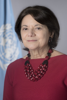 Rosemary A. DiCarlo Under-Secretary-General for Political and Peacebuilding Affairs