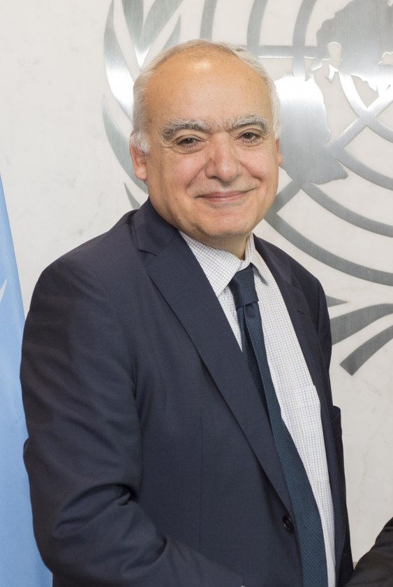 Ghassan  Salamé Special Representative of the Secretary-General and Head of the United Nations Support Mission in Libya