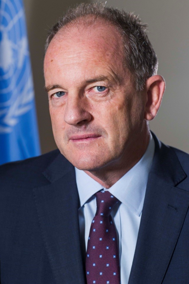 David  Shearer Special Representative of the Secretary-General for South Sudan and Head of the United Nations Mission in South Sudan