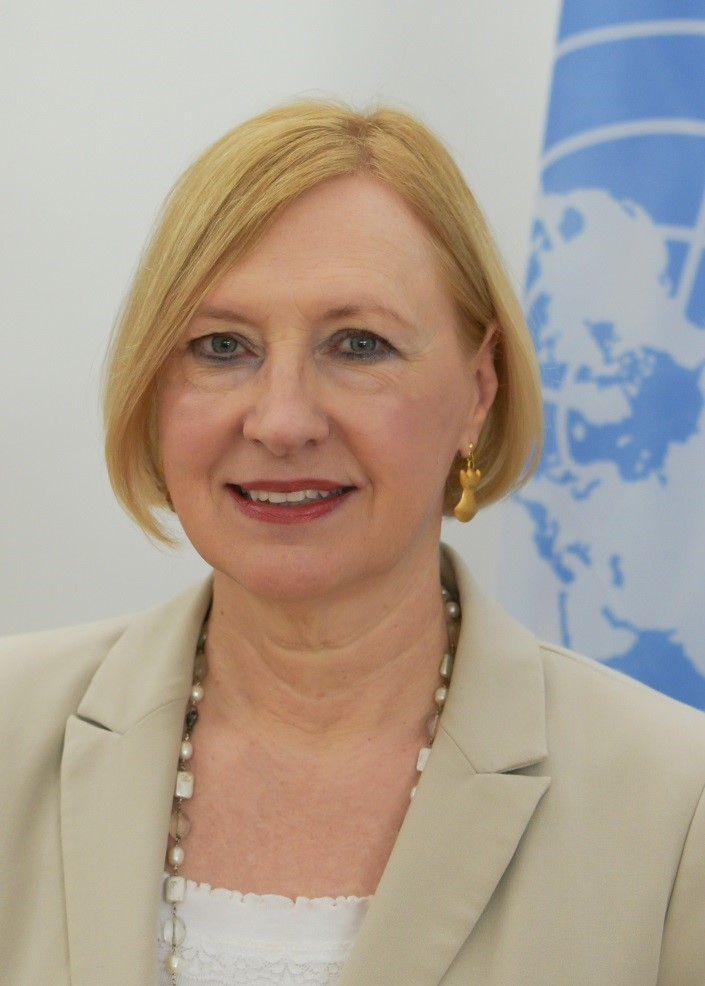 Elizabeth  Spehar Special Representative and Head of the United Nations Peacekeeping Force in Cyprus