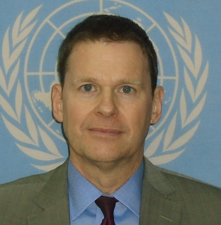 Colin William Stewart Special Representative for Western Sahara and Head of the United Nations Mission for the Referendum in Western Sahara