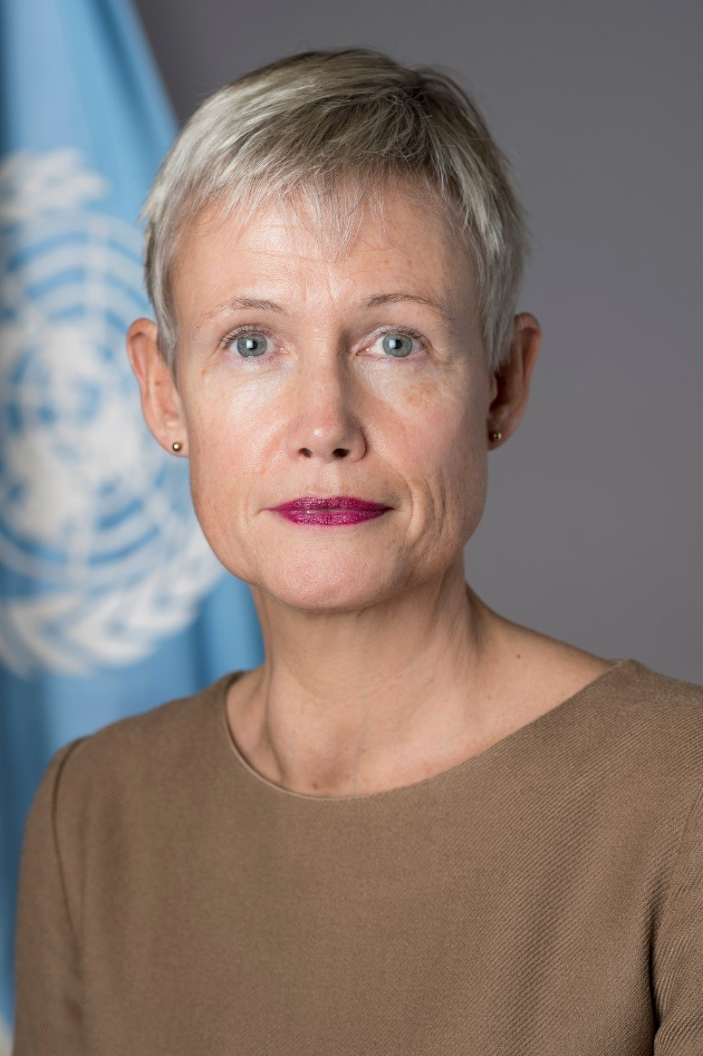 Alice  Walpole Deputy Special Representative of the Secretary-General for Political Affairs and Electoral Assistance