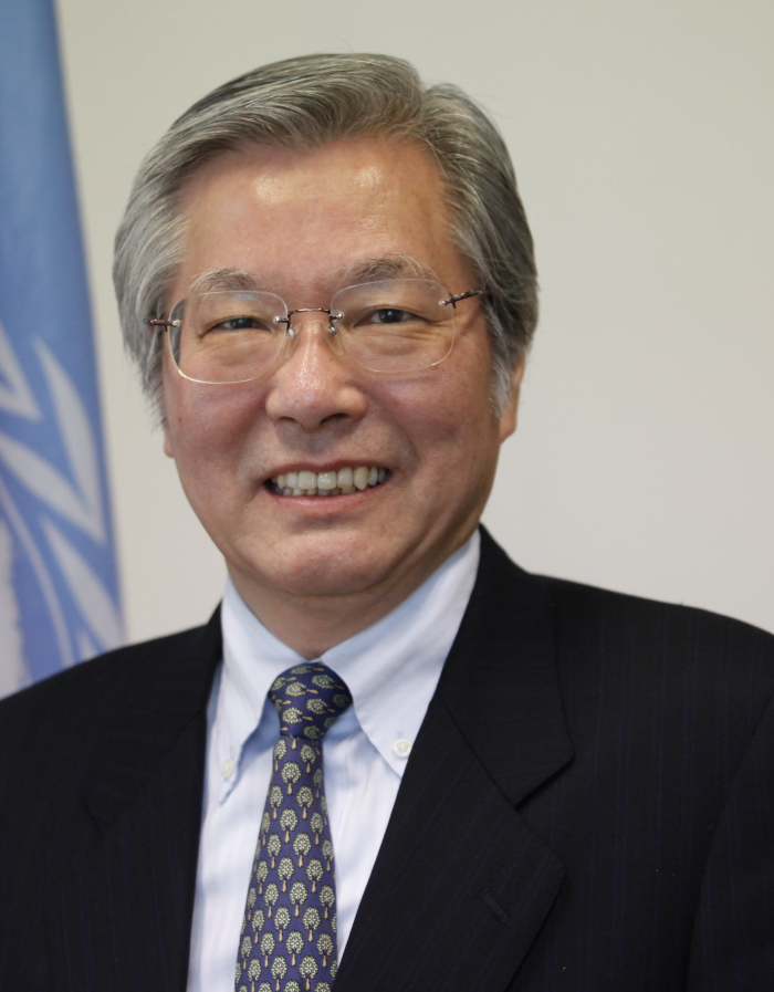 Tadamichi  Yamamoto Special Representative of the Secretary-General for the United Nations Assistance Mission in Afghanistan