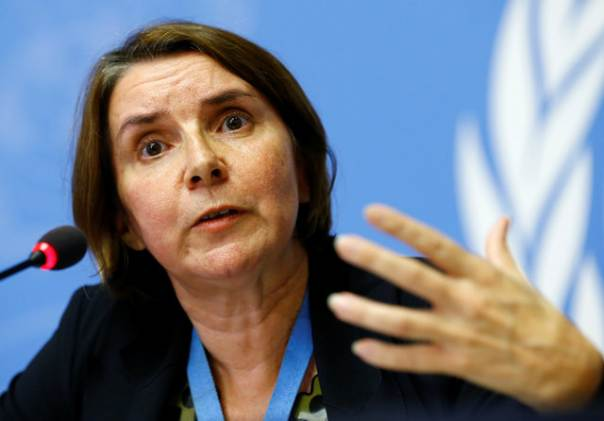 Catherine  Marchi-Uhel Head of the International, Impartial and Independent Mechanism to Assist in the Investigation and Prosecution of Persons Responsible for the Most Serious Crimes under International Law Committed in the Syrian Arab Republic since March 2011