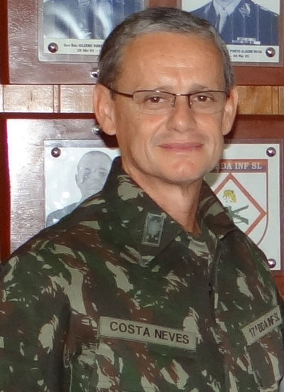 Ricardo Augusto Ferreira Costa Neves Commandant de la Force