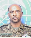 Major General Kefyalew Amde  Tessema Force Commander and Head of Mission