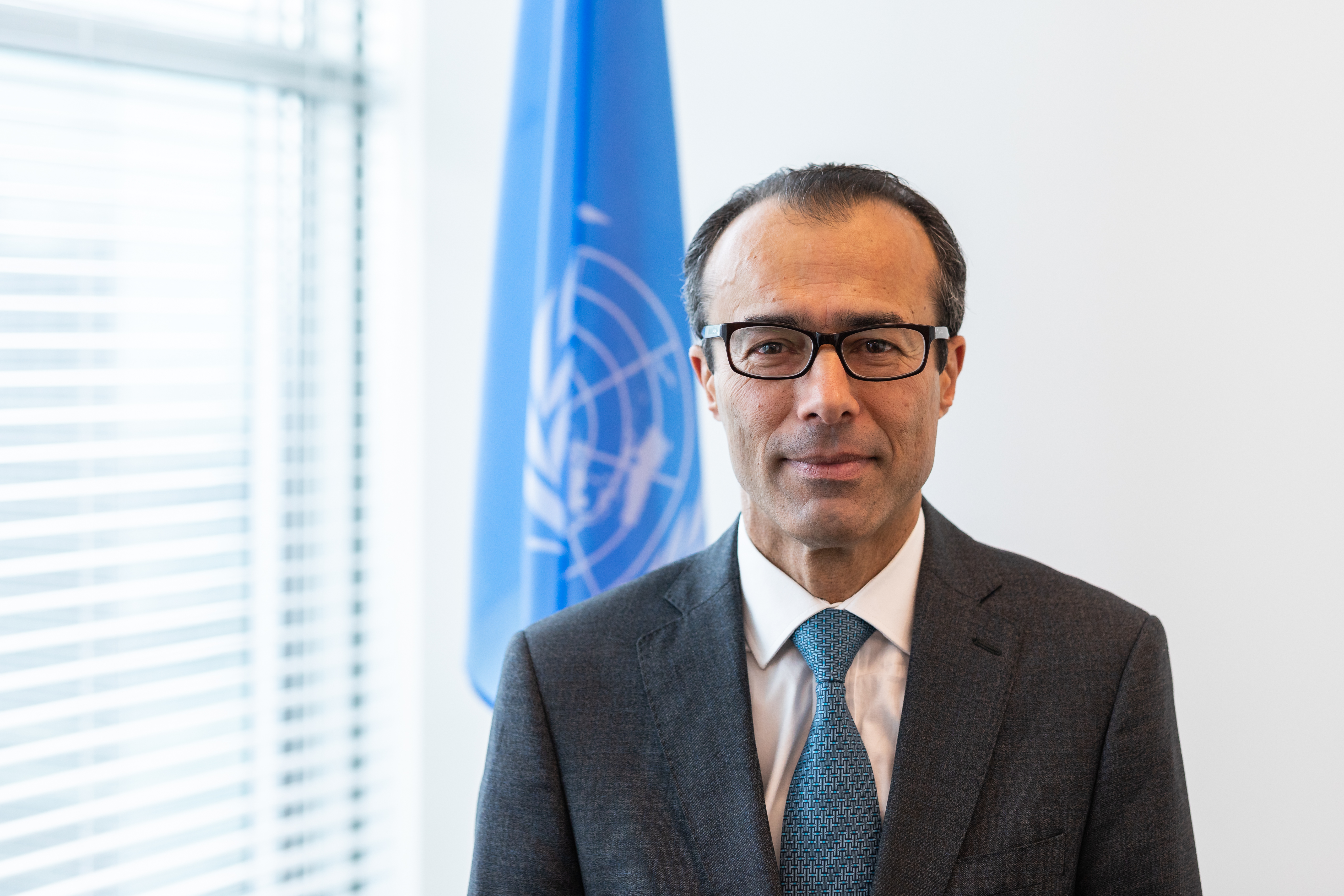 Mohamed  Khaled Khiari Assistant Secretary-General for the Middle East, Asia and the Pacific