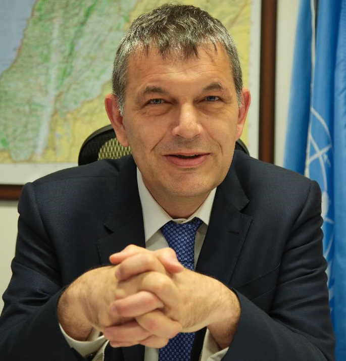 Philippe  Lazzarini Commissioner-General of the United Nations Relief and Works Agency for Palestine Refugees in the Near East