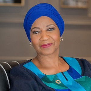 Phumzile  Mlambo-Ngcuka Executive Director of the United Nations Entity for Gender Equality and the Empowerment of Women