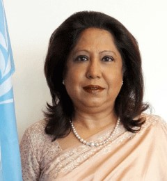 Pramila  Patten Special Representative of the Secretary-General on Sexual Violence in Conflict