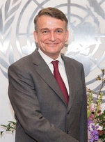 Christian Francis Saunders Acting Commissioner-General of the United Nations Relief and Works Agency for Palestine Refugees in the Near East (UNRWA)