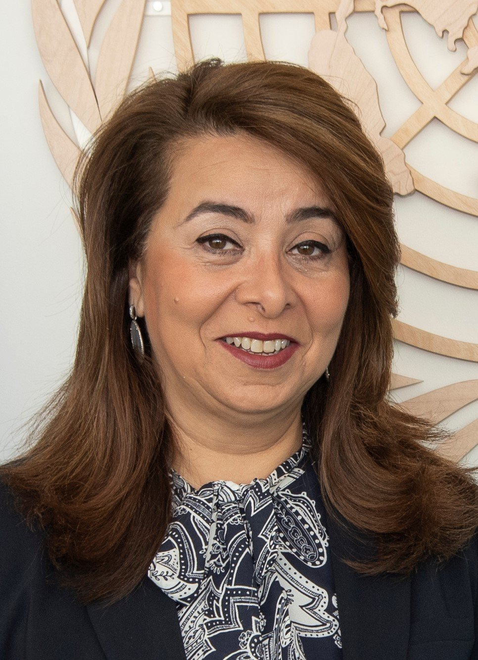 Ghada  Fathy Ismail Waly Executive Director of the United Nations Office on Drugs and Crime and Director-General of the United Nations Office at Vienna