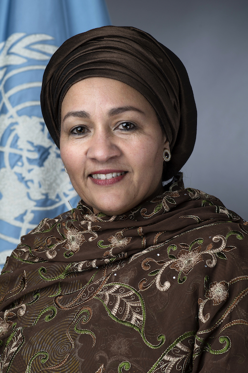 Amina J. Mohammed Vicesecretaria General