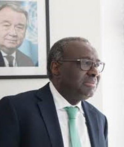 Khassim  Diagne Deputy Special Representative of the Secretary-General for Protection and Operations