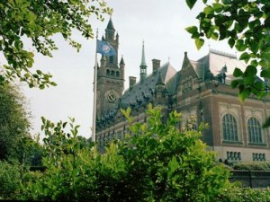 Peace Palace, home of the International Court of Justice at The Hague