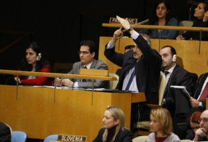 Syrian delegate requests right to speak