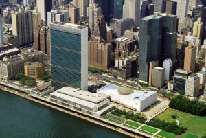 United Nations Headquarters in New York, NY