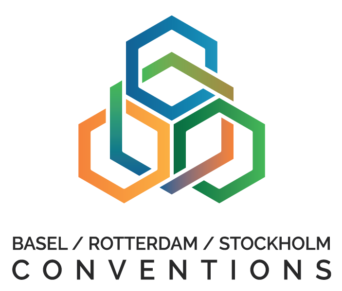 Logo of the Basel, Rotterdam and Stockholm Conventions (BRS)