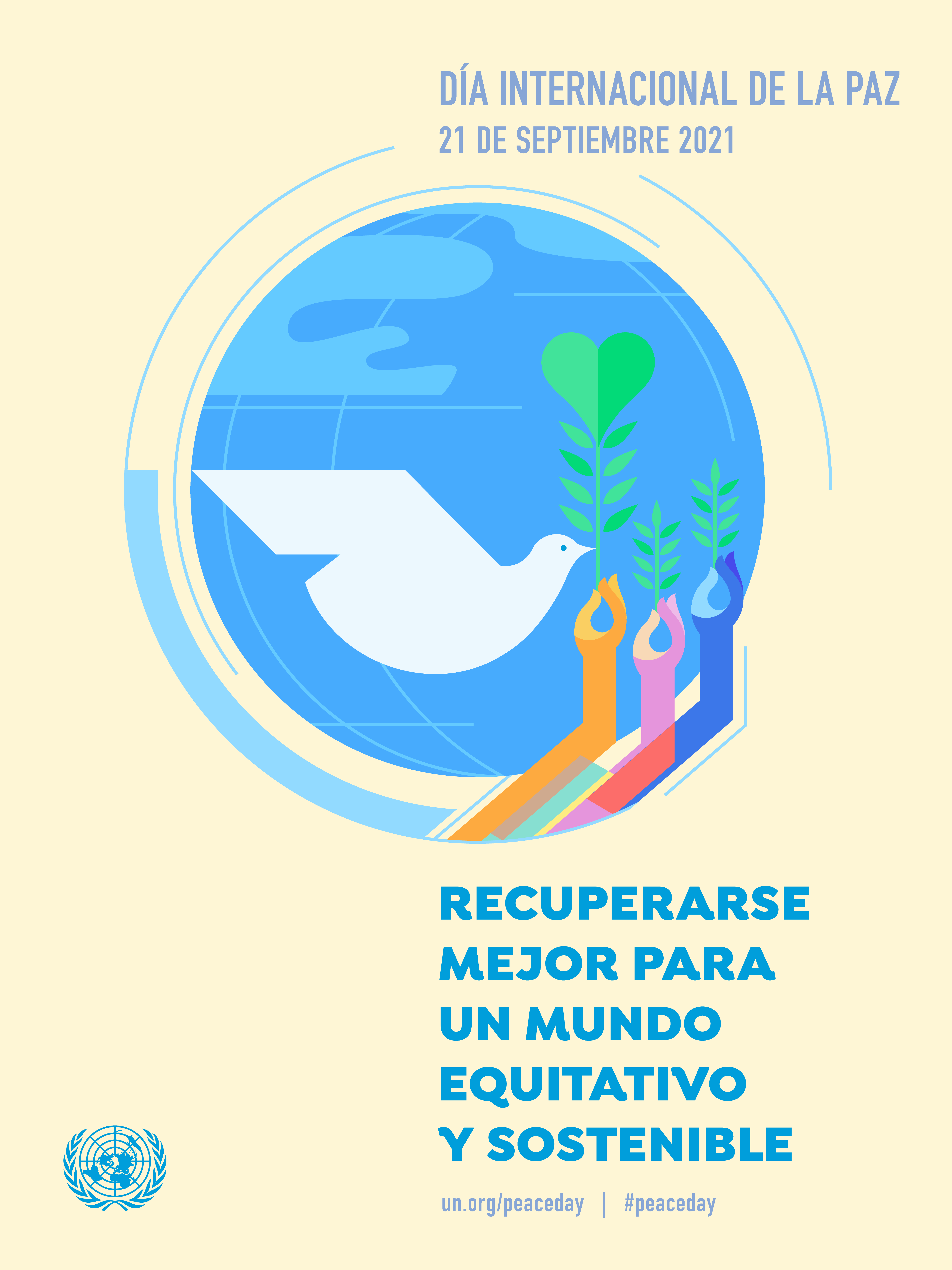 Peace day 2021 poster