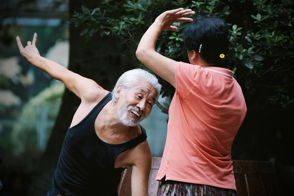 China Elder Dance Couple. Credit: pixabay