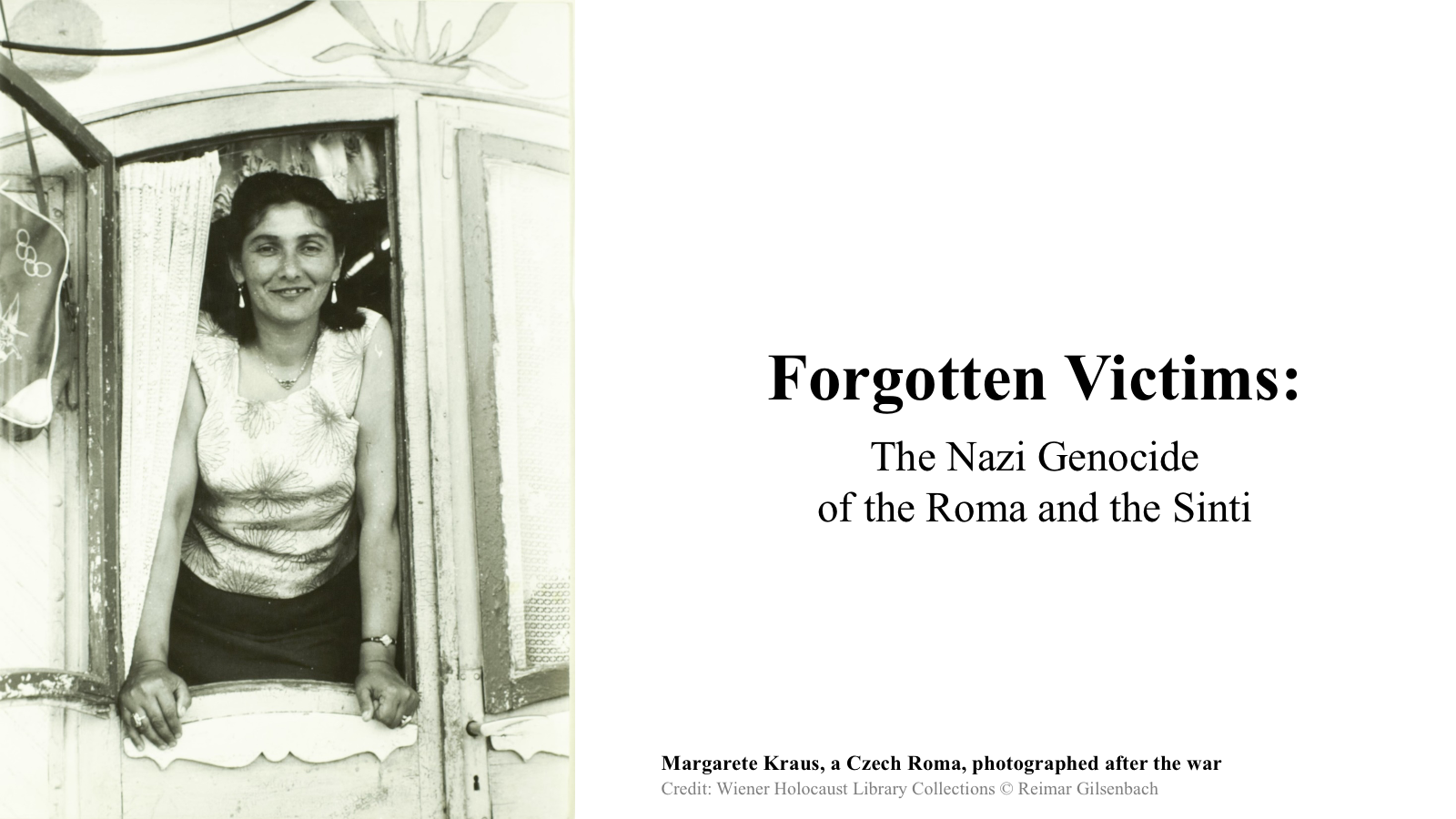 Forgotten Victims title page