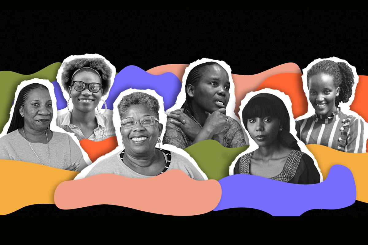 collage of black women leaders