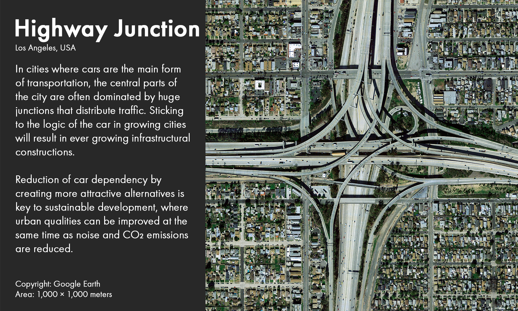 Highway Junction, Los Angeles, USA