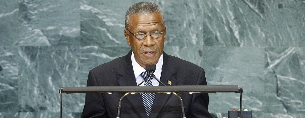 Mr. Tillman Thomas, speaking at the High-Level Meeting in New York.