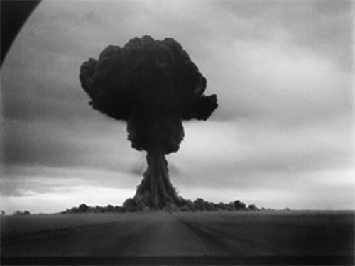 The first USSR nuclear test