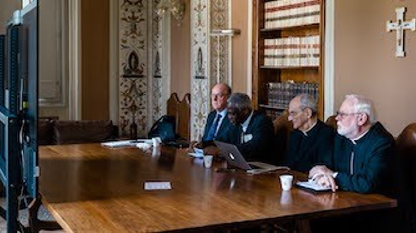 Meeting with Pontifical Academy of Sciences