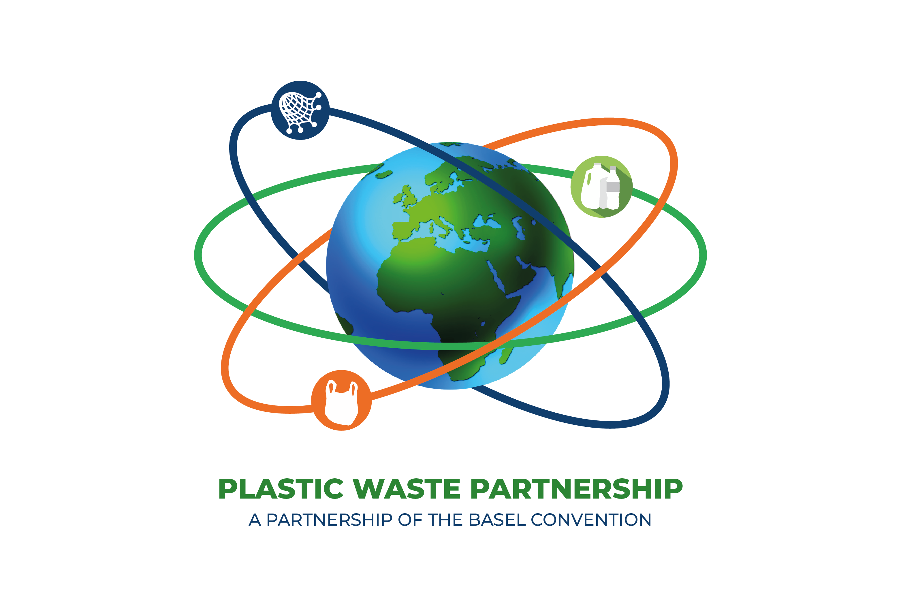 Logo of the Basel Convention Plastic Waste Partnership