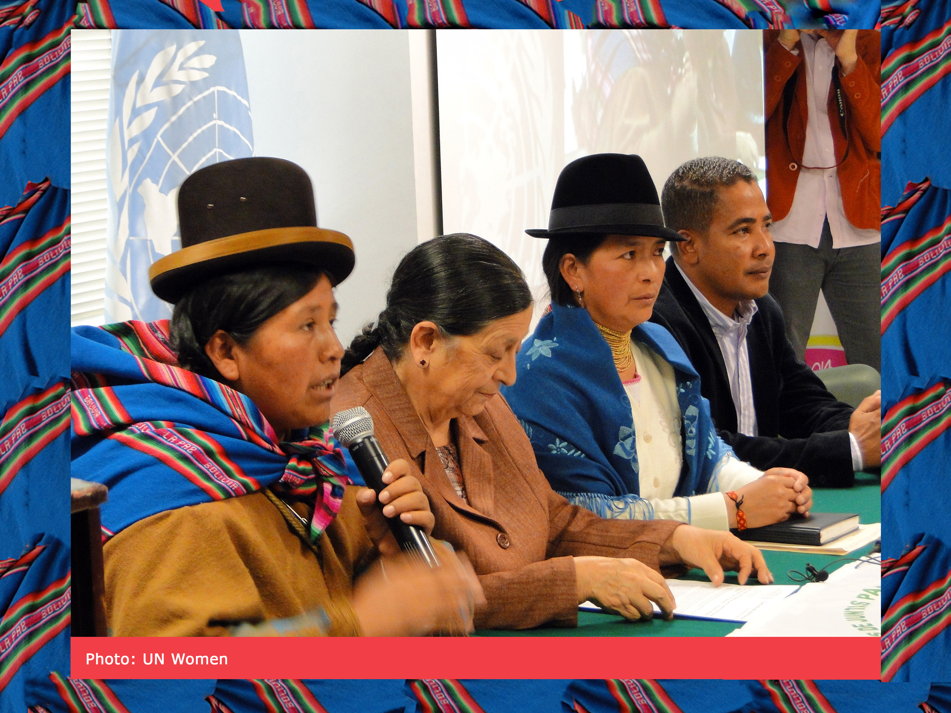In Quito, rural women activists from Bolivia and Ecuador gathered to articulate their demands, such as better access to land, credit, training and technology.