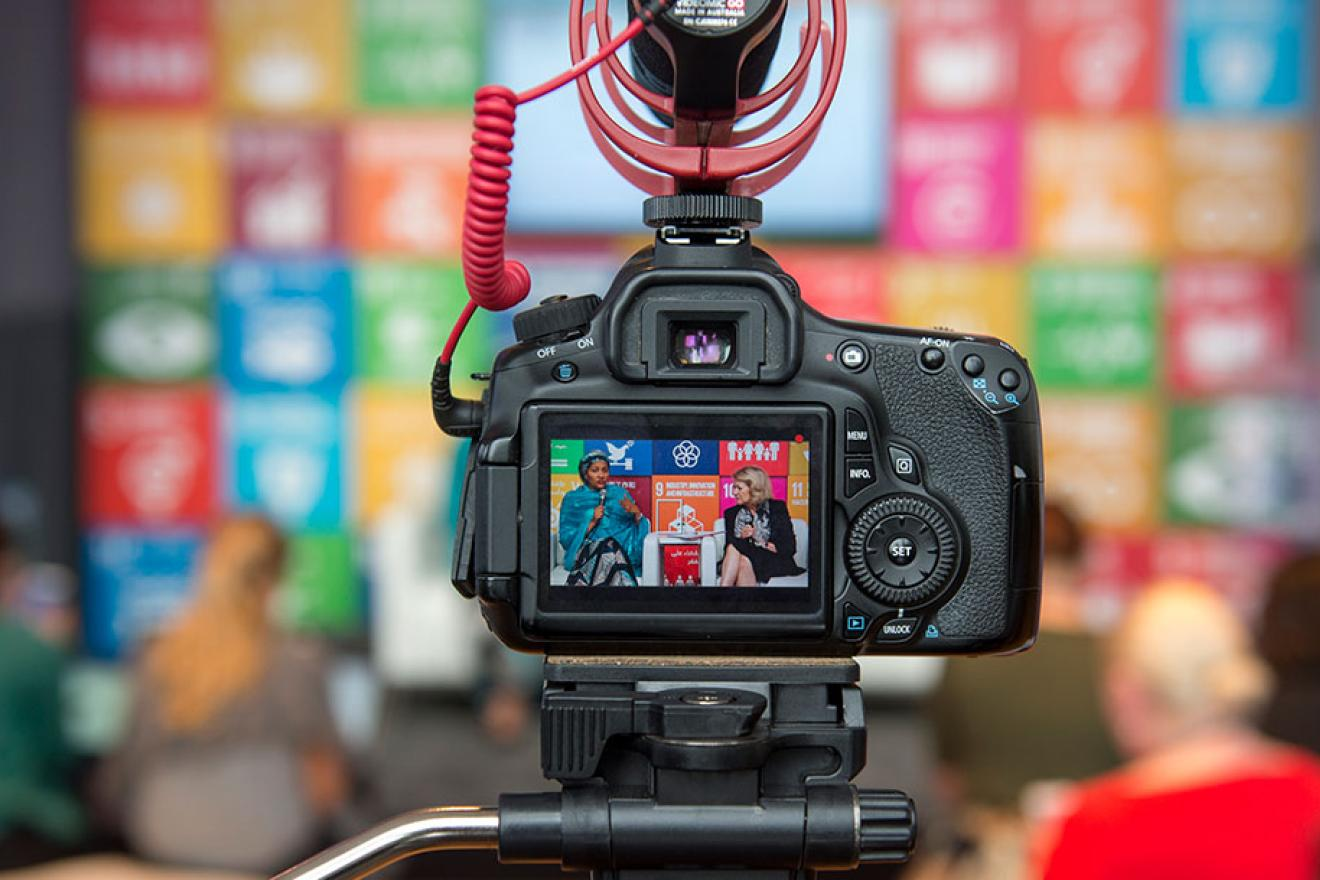 SDG Media Zone + at the UN High-level Political Forum, 6 to 16 July 2021
