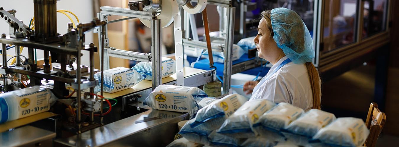 Staff of Mount Sinai hospital in Astoria, Queens, dressed in protective gear during the COVID-19 outbreak