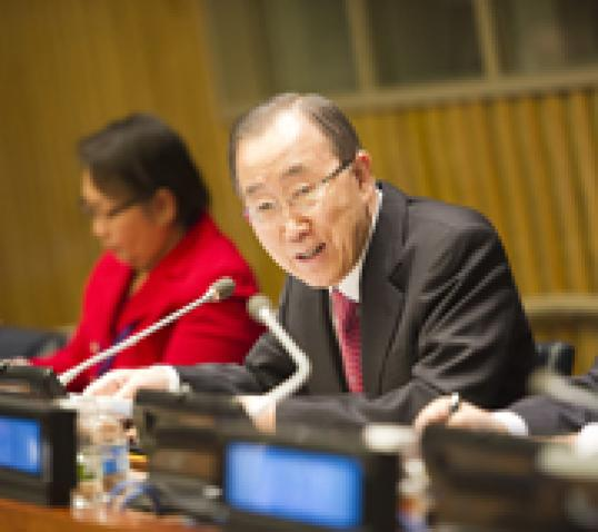 Commission for Social Development, Fifty-fourth Session|662981|Ban Ki-moon
