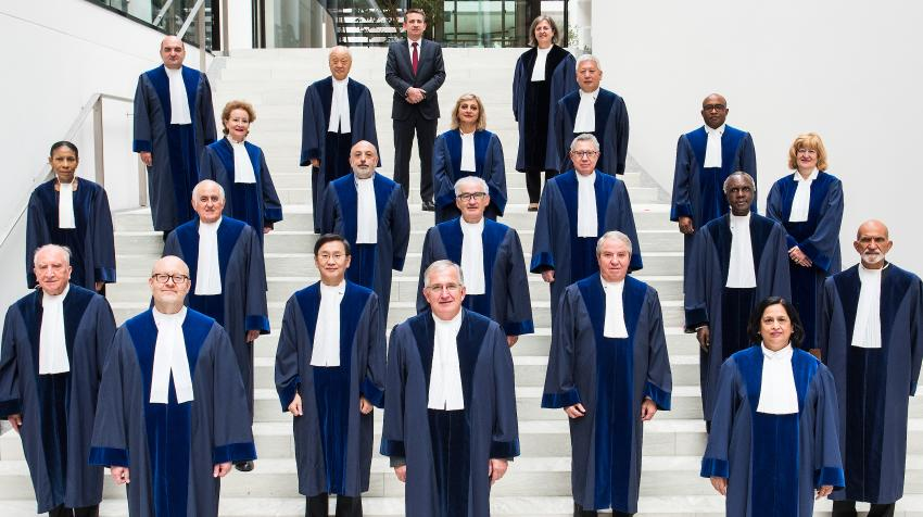 Judges of the International Tribunal for the Law of the Sea, 2021. ITLOS Photo