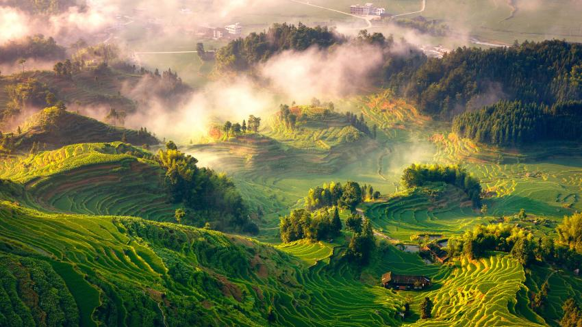 Rice Terraces System in Southern Mountainous and Hilly Areas, China