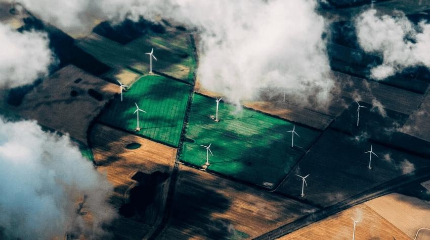Replacing fossil fuels with renewable energy sources like wind is one of the measures needed to tackle the climate emergency, Thomas Richter/Unsplash