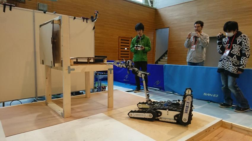 A student robotics group on campus, has successfully participated in competitions held in Japan to promote innovation in this area (Photo: NUT)