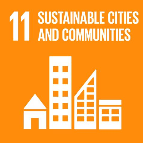 Goal 11: Make cities and human settlements inclusive, safe, resilient and sustainable.