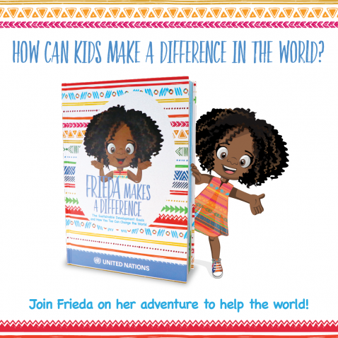 book cover of Frieda makes a difference