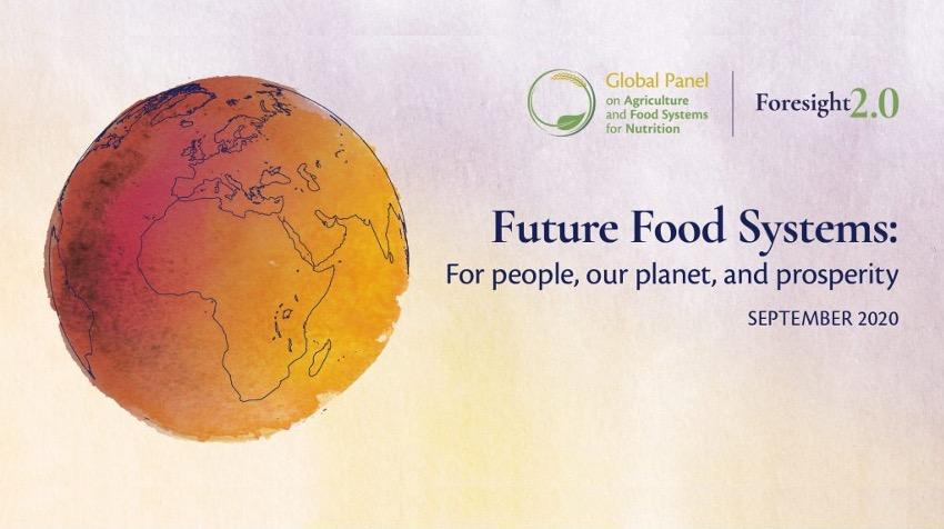 Future Food Systems: For people, our planet, and prosperity