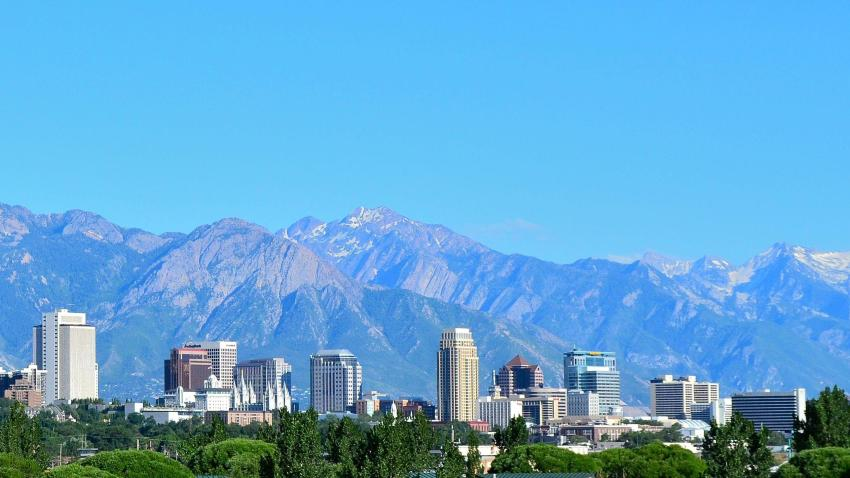 A view of Salt Lake City, Utah, United States of America, host of the 68th United Nations Civil Society Conference, taking place 26-28 August 2019. Wikimedia Commons/Garrett