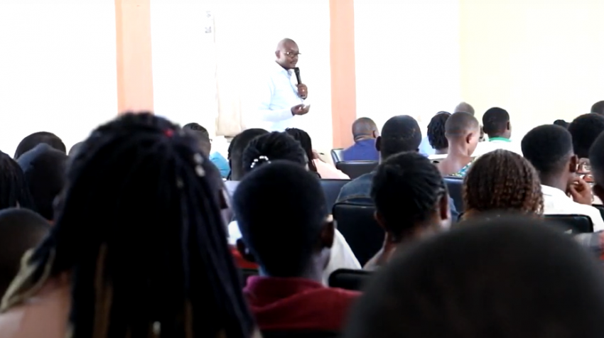 Experts delivered presentations to mark World Environment Day (Photo: UCB)