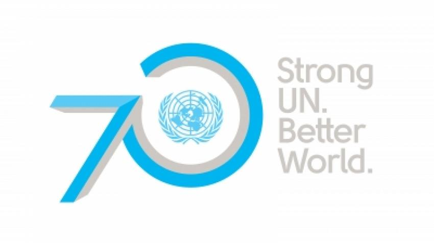 United Nations 70th anniversary logo