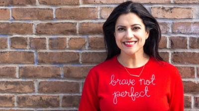 """Reshma Saujani is the author of the international bestseller, """"Brave, Not Perfect."""" ©Girls Who Code."""